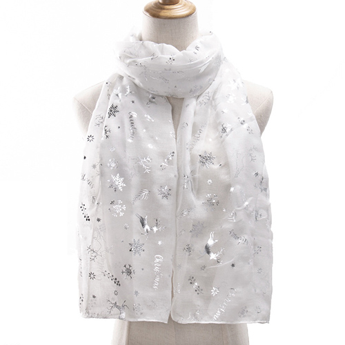 Wholesale winter long Christmas elk scarf