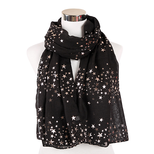 2020 star hot stamping print scarf wholesale