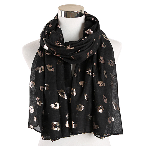 Leopard print shawl warm scarf wholesale for sale