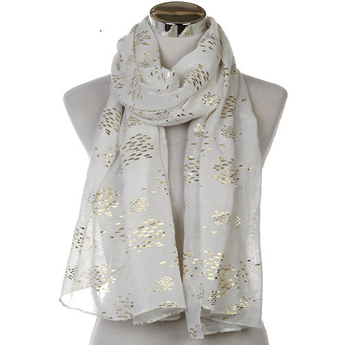 Wholesale soft fish scale scarf for women