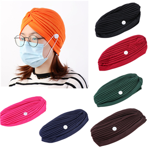 China wholesale mask anti fastening cotton headband