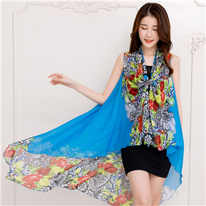 Wholesale printed chiffon scarf