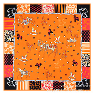 Wholesale shawl flower and bird large square scarf