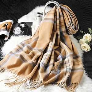 2020 New cashmere plaid scarf