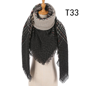 Fashion warm winter scarves