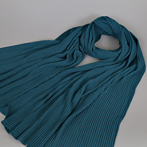 Muslim pure color breathable scarf