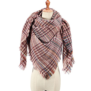 Warm cashmere triangle scarf wholesale