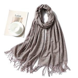 Cashmere ladies winter solid color scarf