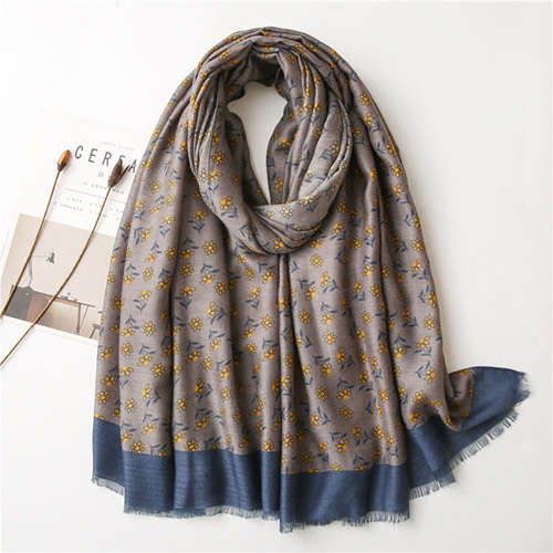 Cotton linen scarf feel beach towel big shawl for women