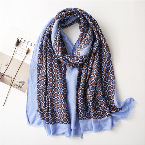 Wholesale hot sale cotton scarf monochrome style China