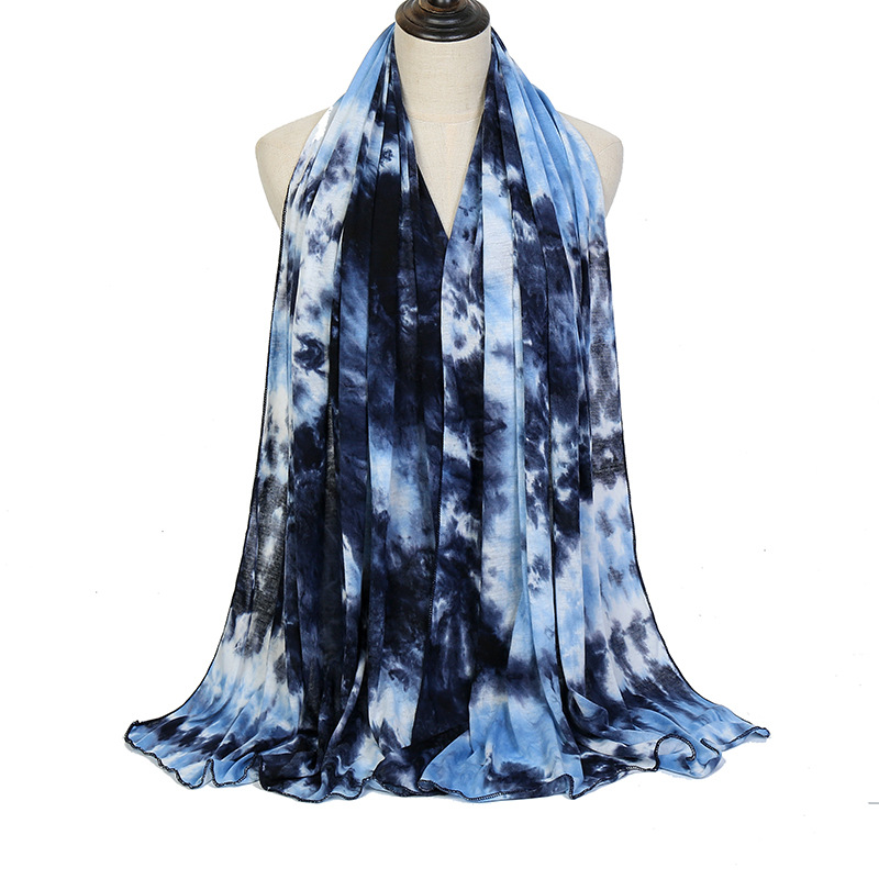 Tie-dyed modal jersey women wholesale scarf