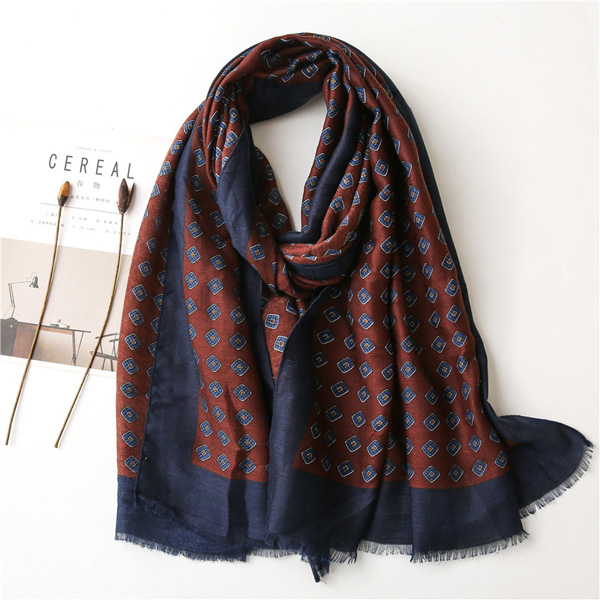 Women cotton hemp scarf soft national literature art shawl wholesale
