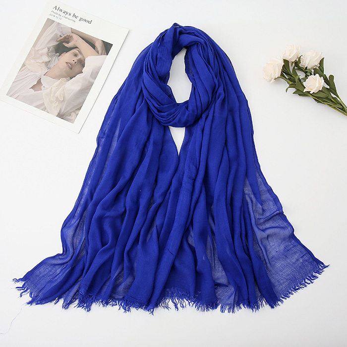 Malaysia tr cotton scarf Muslim shawl women head cotton linen Scarf