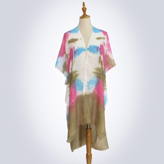 Silk tie dye scarf Manufacturers Suppliers
