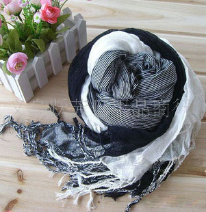 Three sides mens cotton scarf USA Scarves