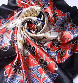 silk ladies shawl