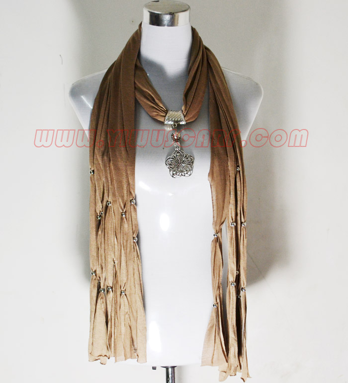 Spanish pendant scarves