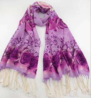 Butterfly wool Scarves