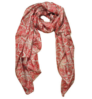 Printed silk scarves Turkey