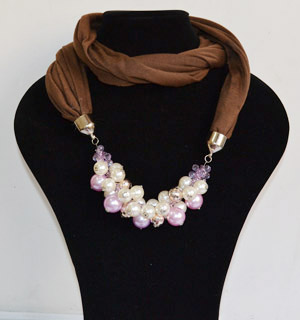 China wholesale alloy beads pendant scarf