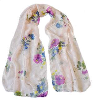 Silk scarf uk online
