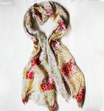 Linen scarves fashion