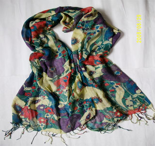 Paris cotton shawls