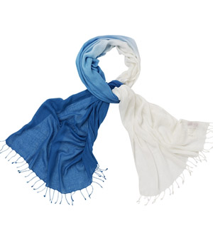 Fashion Ombre Dyed Scarf