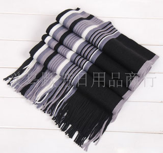 Mens cashmere knitted scarves