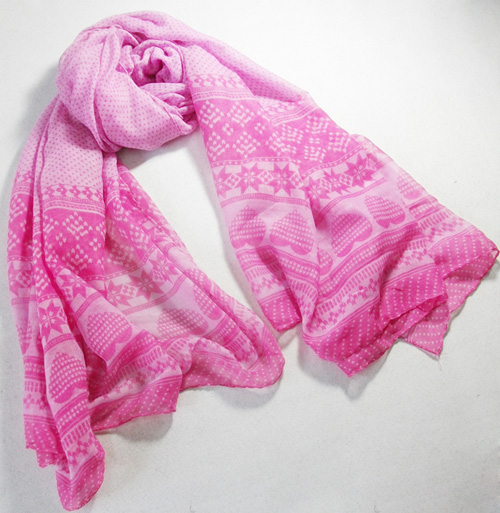 French fashion scarves