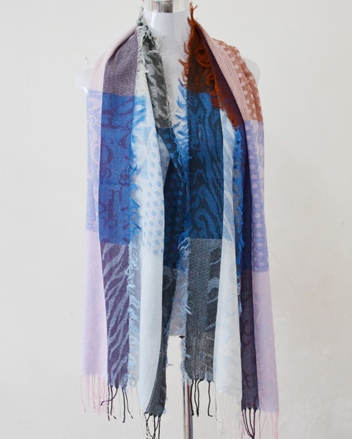 Usa supply Mercerized cotton scarves