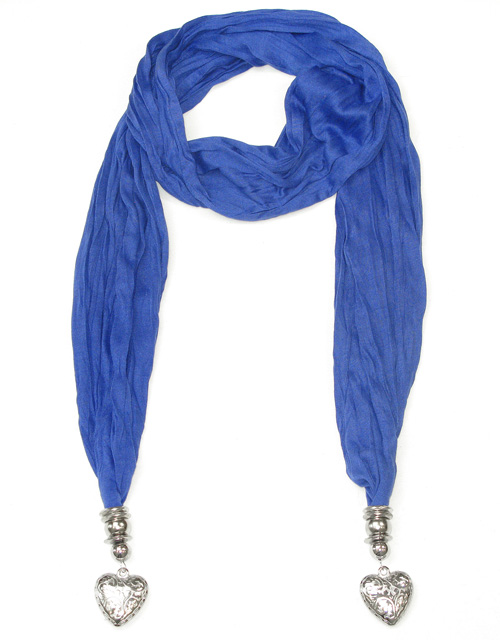 Women pendant scarves