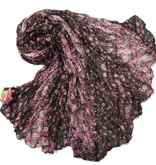 Viscose Flower Scarf