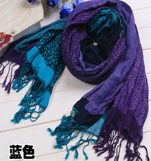 colorful  new Leopard Scarf