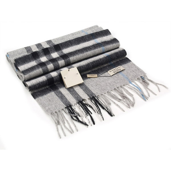 Gray Pashmina Wool Scarves Top Quality