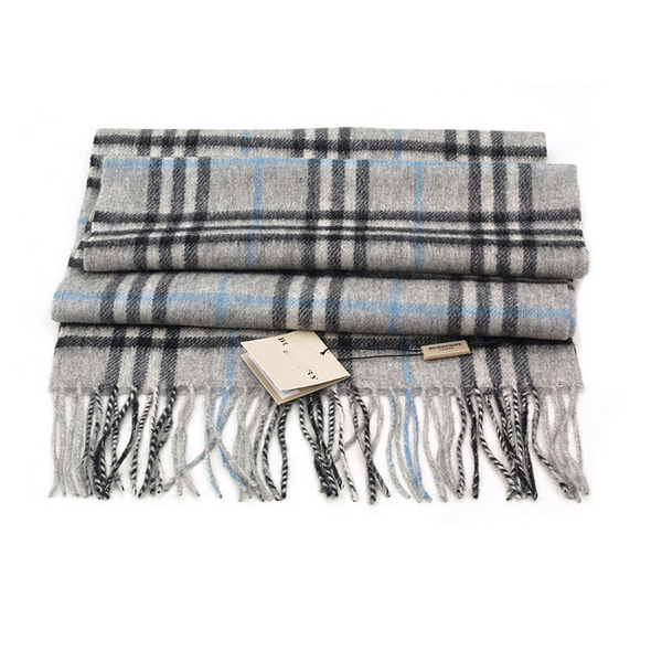 Dark gray Pashmina Wool Scarves Top Quality