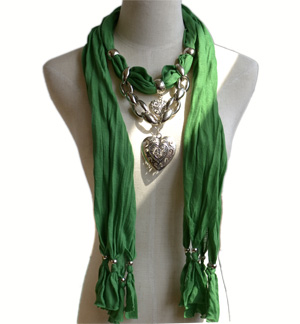 Best Selling Fashion Lastest Scarf Pendant Jewelry