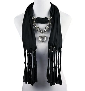 Florida pendant scarf wholesale jewelry scarves