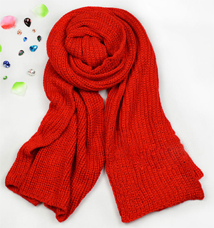 Christmas gift scarf couple scarf