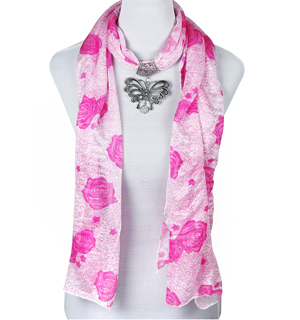 pendant scarf animals scarves