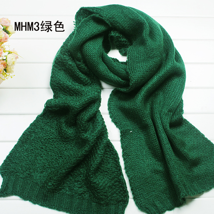 Christmas thicken wool scarf