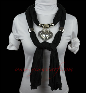 jewelry scarves for women