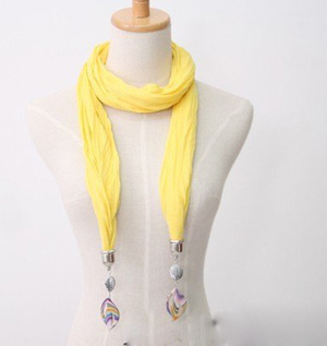 jewelry beads pendant scarf necklace