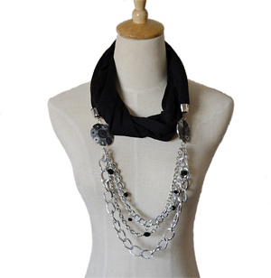 Alloy necklace scarf wholesale