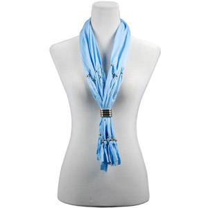 fashion style pendant jewelry scarf