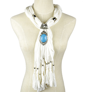 Singapour Scarf Necklace