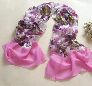 China silk scarves made