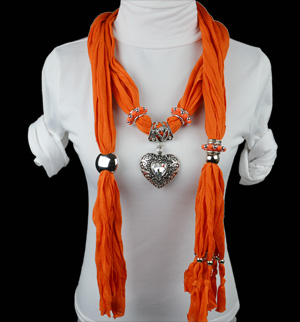 pendant scarf necklace jewelry
