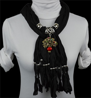 scarves with pendant wholesale women