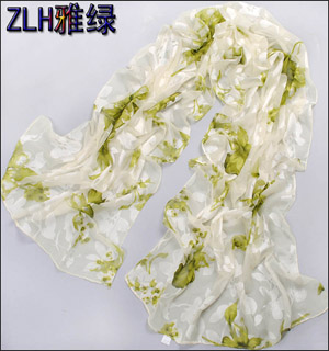 Long scarf pastoral fashion flowers scarf